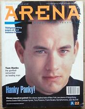 ARENA #22 JUL/AUG 1990 UK MAG TOM HANKS CHRISSIE HYNDE FRANK SINATRA McENROE