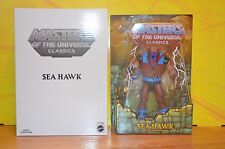 Mattel MOTUC Masters Of The Universe Classics SEA HAWK Collector Figure +Mailer