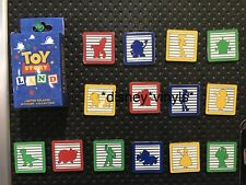 Disney World Toy Story Land Opening Day Blocks Mystery 14 Pin Set COMPLETE