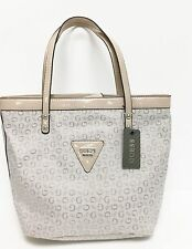 New-Guess Tanaisie Nude, Beige Brillant Similicuir Sac Bandoulière, Bourse, Tote