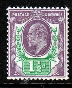 SG289 11/2d Slate Purple & Green UNMOUNTED MINT(1)