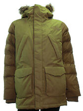 Men's The North Face Degray Parka Brown Fields Down Fill Winter Jacket Medium