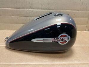 Harley Davidson Softail FLSTC Injection Fuel Tank Smokey Gold/Black 62207-04BJH