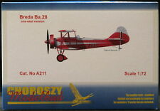 Choroszy Models 1/72 BREDA Ba-28 Italian Trainer Single Seat Version