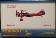 Choroszy Models 1/72 BREDA Ba-28 Italian Trainer Single Seat Version