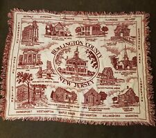 Burlington County Throw Tapestry Blanket