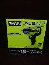 New Ryobi P262 Hp One 18v Brushless Cordless 4 Mode 12 In Impact Wrench