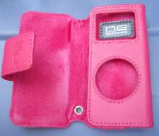 $25 BELKIN Leather Folio Case~ APPLE iPod Nano 1st& 2nd Gen ~ Deep PINK ~Br New