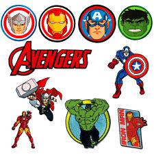 Parches Avengers Comic Niños termoadhesivos bordados applique para ropa