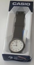 Casio Men's MQ24/7B Quartz Watch with White Dial Analogue Display and Black Resi
