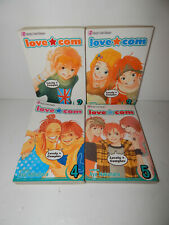 Shojo Beat Manga Book Lot Love Com Vol = 2 3 4 & 5
