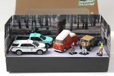 1:64 Greenlight Motor World Campsite Cruisers Diorama NEW bei PREMIUM-MODELCARS