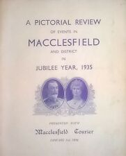 Vintage Original 1935 Macclesfield Courier Pictorial Review George V Jubilee