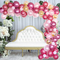 100pcs Balloon Garland Kit Arch For Wedding Birthday Party Girl Background