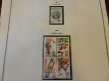 Lot of 13 United States Air Post Stamps 1983 Olympics (Blocks) 1980 Philip Mazze