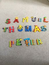 Childs Bedroom Door Name Letters - one name only
