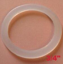 """10 PE Dichtung 3/4"""" 23x29,5x2mm für Wasserzähler Wassermesser Verschraubung"""