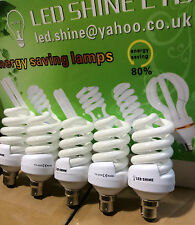20W=100W FS Day light  6500K CFL Lightbulb, Energy Saving Bulb B22 .FIVE LAMPS