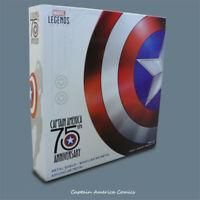 Marvel 75th Anniversary Legends Captain America 1:1 Vibranium Shield Cos Props