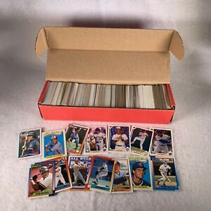 Huge Lot (800+) 1987-1991 Topps, Score, Upper Deck, Fleer Baseball Cards Mixed