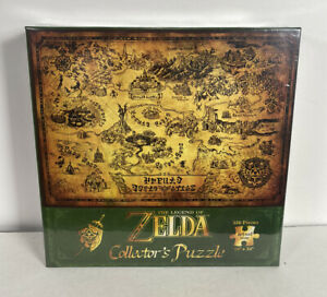 2021 USAOPOLY- The Legend of Zelda Collector's Puzzle: Hyrule Map (550pcs)