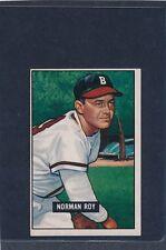 1951 Bowman #278 Norman Roy Braves VG/EX 51B278-22715-3