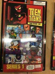 """Teen Titans Go Series 1 1.5"""" Comic Book Heroes Action Figures Hero"""