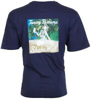 TOMMY BAHAMA Mens T-Shirt SHAKE WELL Hula Girl Drink NAVY Relax Camp XL-3XL $45