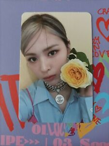 Itzy Ryujin Official photocard Crazy in love kpop