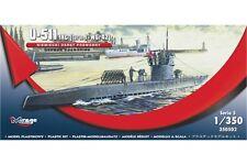 MIRAGE HOBBY 350502 1/350 U-511 IXC (Turm I + Wgr42)