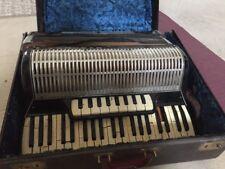 RARE Antique SIMMONE Accordion With Case