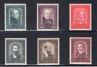 Austria Sc #B100-105 (1932) Artists Semi-Postal Charity Set Complete VF Mint