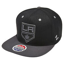 Zephyr NHL Los Angeles Kings Blackout Snapback Cap