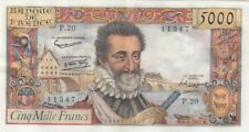 France 5000 Francs Henri IV - 06-06-1957 Série P.20 - SUP +