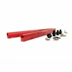 Fast 146028-KIT Fuel Rails Billet Aluminum Red Anodized For Chevy LS Truck NEW