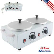 New Pro Wax Warmer Machine Double Pot Heater Electric Dual Hot Paraffin Salon US
