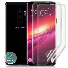 Samsung Galaxy S9 Plus Screen Protector HD Clear 3D Curved Case Friendly 2 Pack