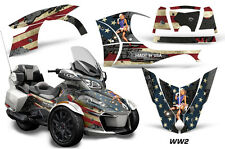 AMR Racing Can Am BRP RT-S Spyder Graphic Kit Wrap Roadster Decals 2014+ WW2