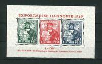 Bizone Block 1c - Hannover Exportmesse ** postfrisch - Schlegel BPP - Mi. 700,-
