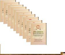 10 cajas de 0.20 X 13mm tianxie marca agujas de acupuntura, 1000 PC con tubo de guía