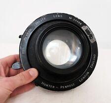 Vintage HUNTER PENROSE ENGLAND PENRAY HILITE Large Format camera lens