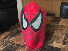Amazing Spiderman Mask Adult Size Used Costume Hood from Infinity War Homecoming