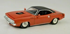 """Racing Champions 1970 Plymouth Barracuda 3 1/4"""" Long Diecast Mint Condition"""