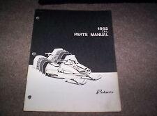 Vintage Snowmobile Polaris 1982 TX-L 340 Rigid Front Parts Manual Not A Copy