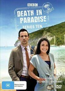 DEATH IN PARADISE Series Season Ten 10 DVD Region 4 BRAND NEW & SEALED!