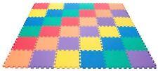 Pack de 9 enfants bébé Eva INTERLOCKING MOUSSE 30 cm Tapis de jeu Tapis de sol Exercice carrelage