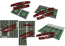LEGO Printable Road Plate Package !!! Standard Dark Gray PDF electronic only