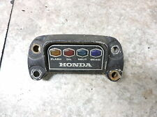 74 Honda CB750 K SOHC CB 750 Four indicator gauge light cover housing
