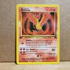 Moltres 27/62 Non Holo 1st Edition Fossil Pokemon Card