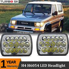 Pair H4 Pro Led Headlight For Toyota Land Cruiser II FRP Top VX LJ73 PRADO EX5